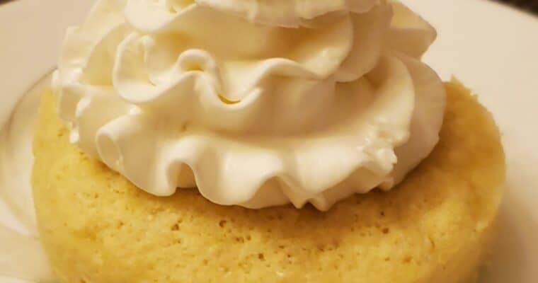 Keto Minute Mug Cake