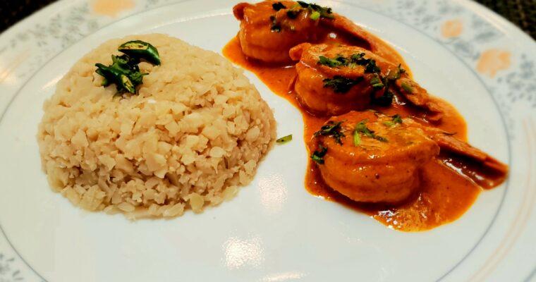Keto Coconut Shrimp Curry