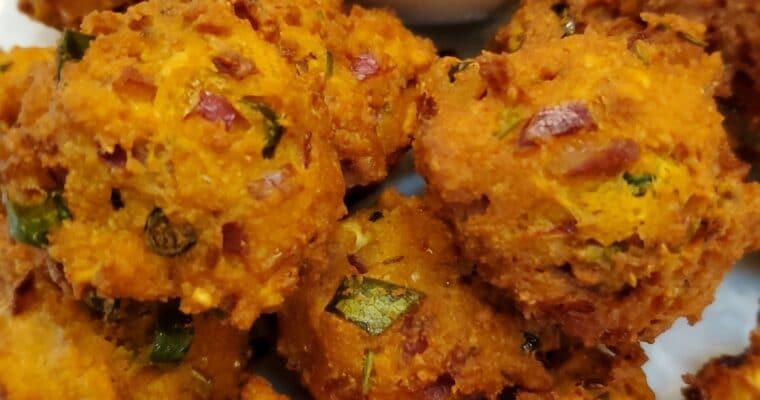 Keto Onion Pakora | Pakoda (Fritters)
