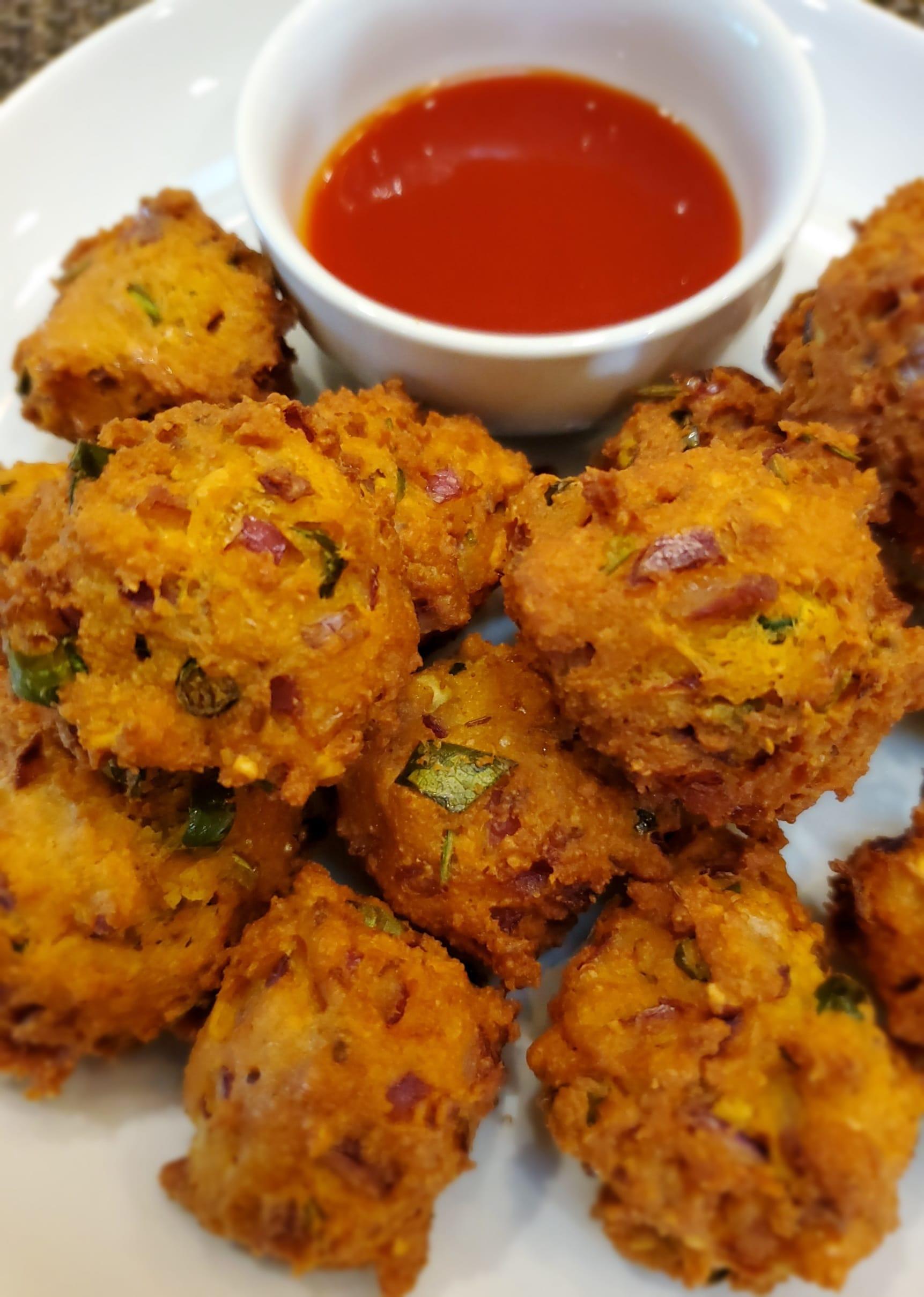 Keto Onion Pakora | Pakoda (Fritters) - Keto Recipe Swap
