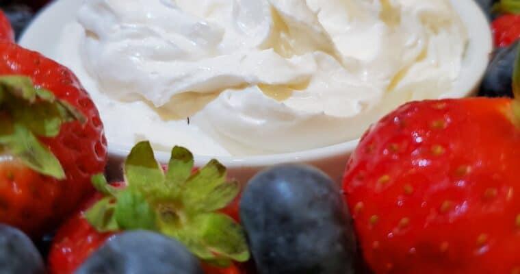 Keto Fruit Dip – Quick and Easy Recipe