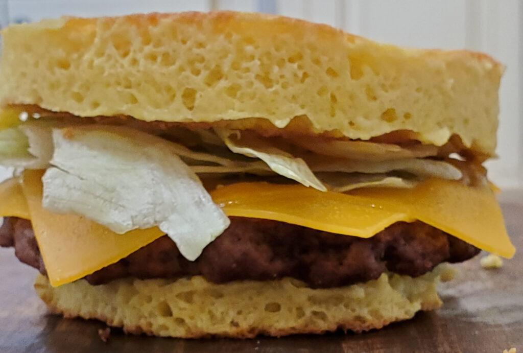 burger keto bread
