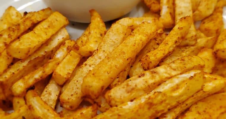 Keto Fries – Turnip Fries