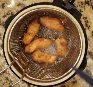 amritsari fish pakora deep fry