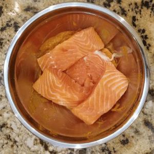 tandoori salmon marinade