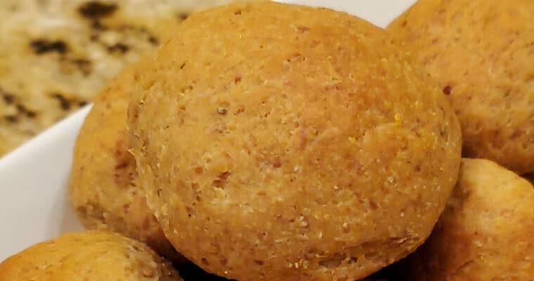 Keto Yeast Risen Bread Rolls
