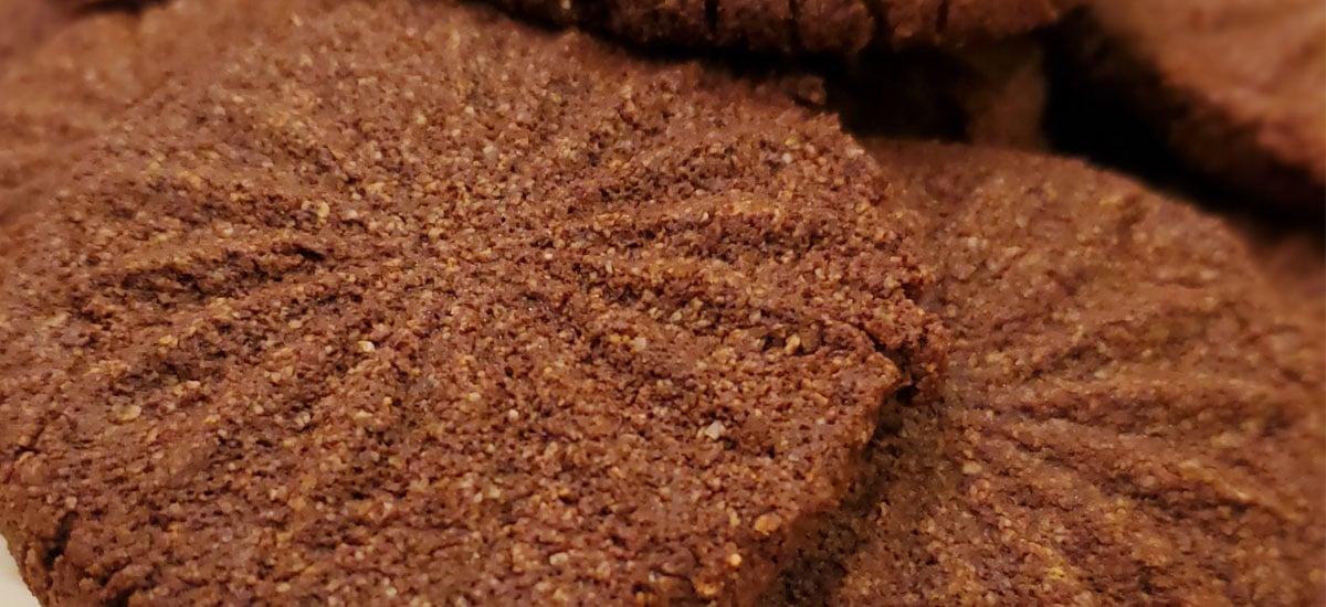 Keto Chocolate Brownie Cookies