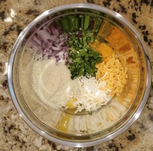 Egg bite ingredients