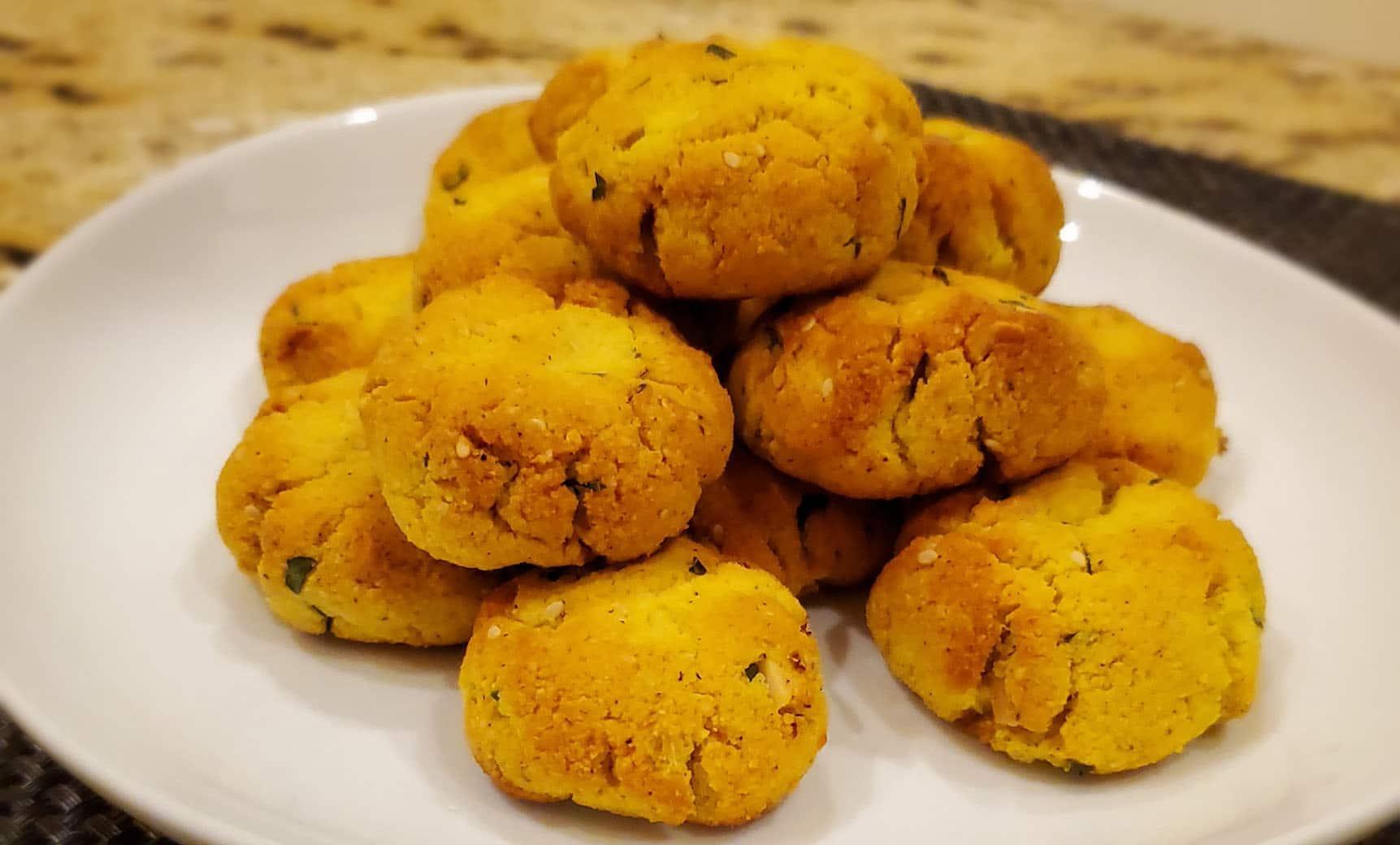 Keto Khara Biscuit   Mangalorean Spicy Cookie
