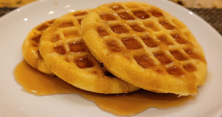 Keto Waffles using Almond flour