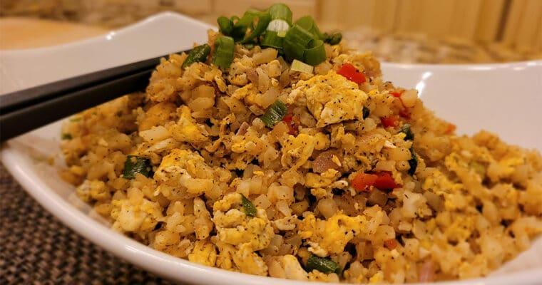 Keto Egg Fried Cauliflower Rice