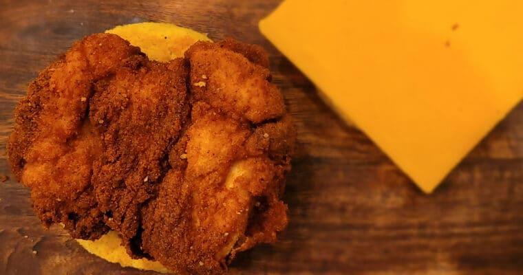 Keto Spicy Chicken Sandwich Chick-fil-A style