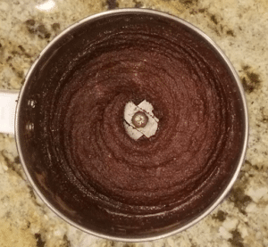 Keto Chocolate Almond Butter Blended