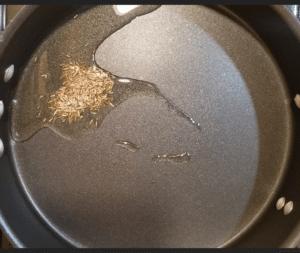 tikka masala - cumin seeds
