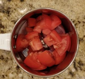 tikka masala - onion tomato