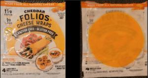 tostada - crispy cheese folio