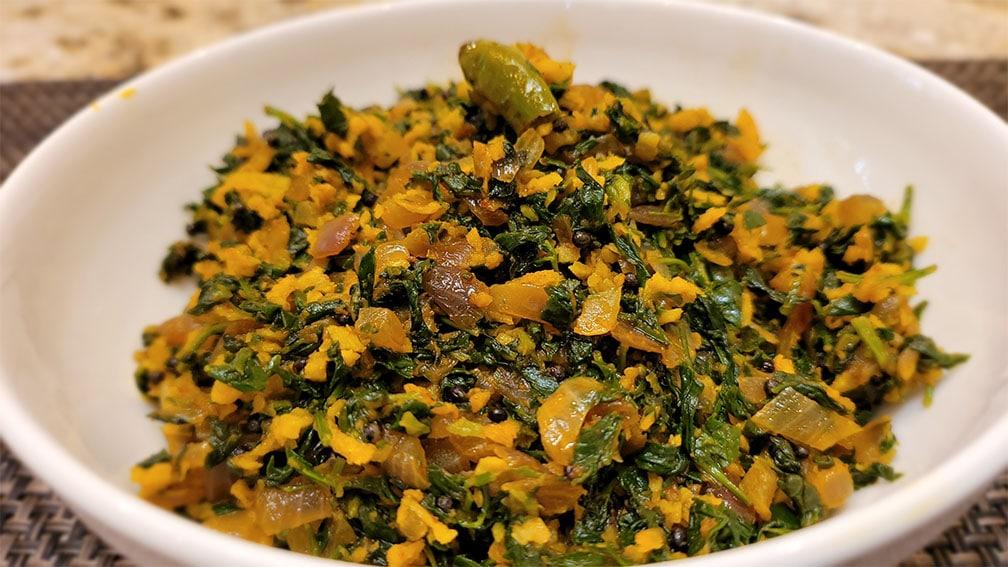 Keto Methi Sabji – Healthy Fenugreek Side Dish