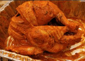 tandoori turkey - marinade rub